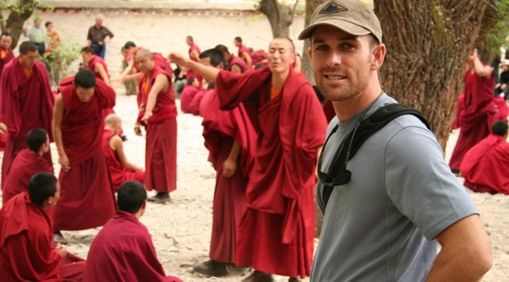 Debating Monks in Tibet