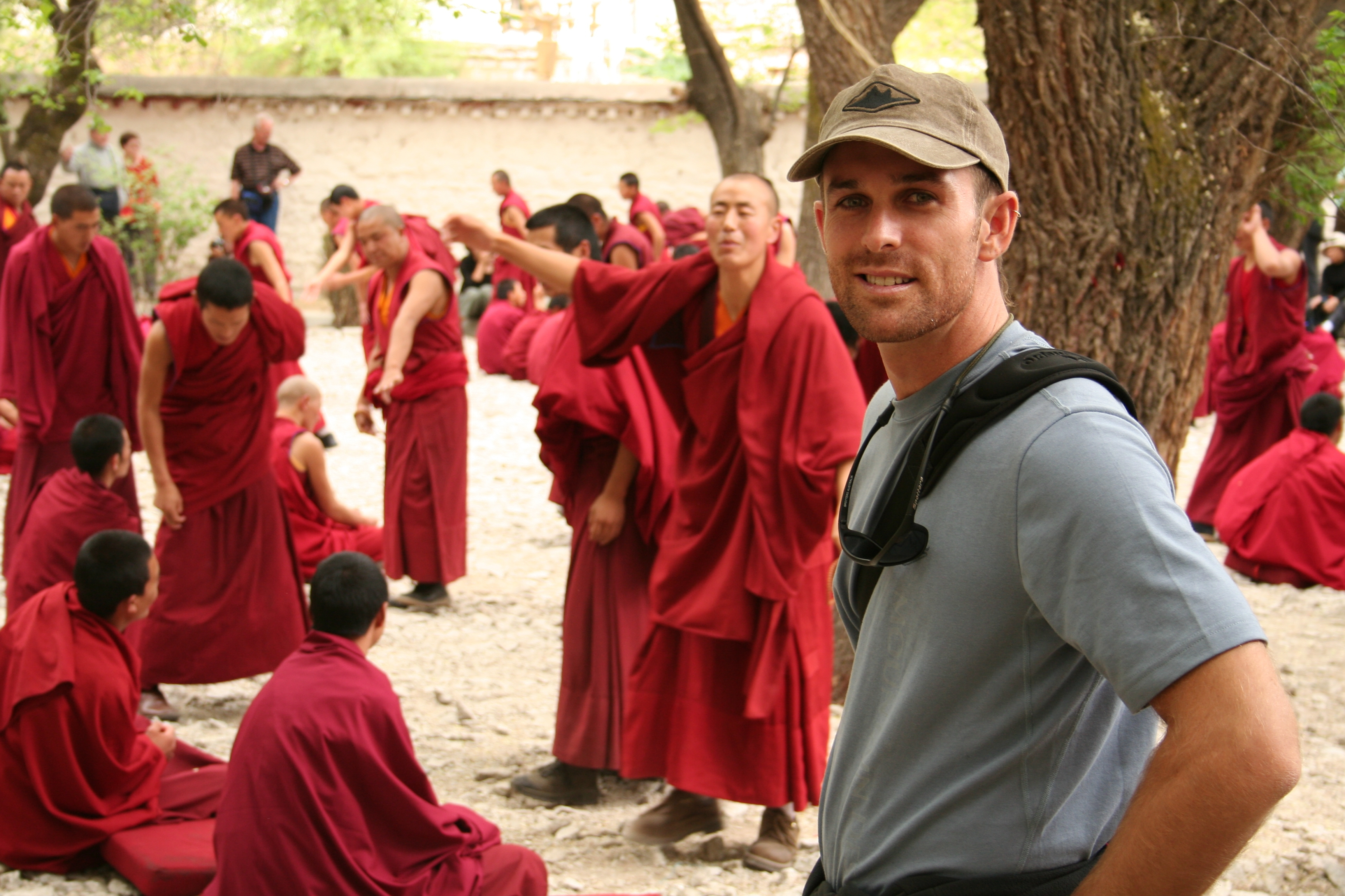 Debating Monks in Tibet