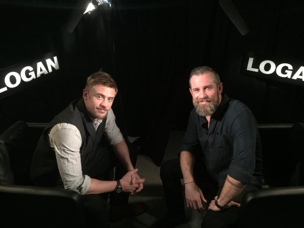 Boyd Holbrook and Ryan Hodgson - Hugh Jackman Interview