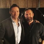 Hugh Jackman and Ryan Hodgson