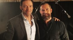 Hugh Jackman and Ryan Hodgson