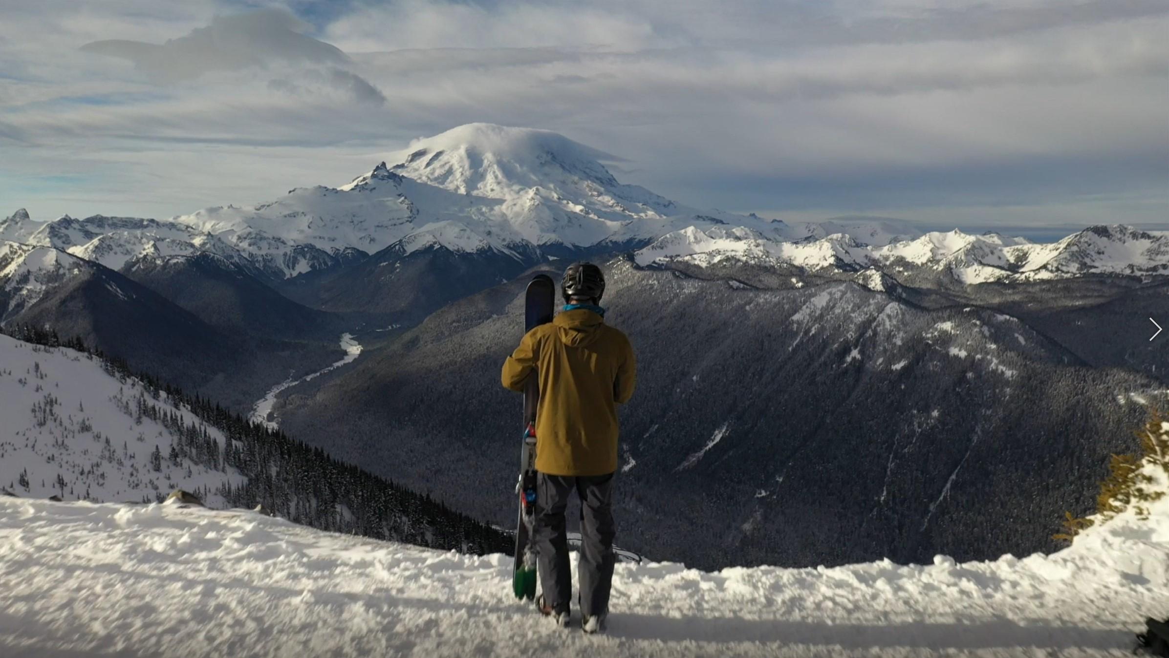 Ski the Beautiful Crystal Mountain Resort